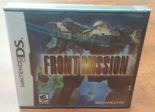 Front Mission (Nintendo DS, 3DS, 2007) FACTORY SEALED