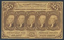Fr1281 25¢ 1St Issue Fractional Currency - Choice Cu - With Monogram Bt724