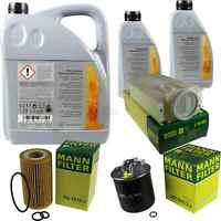 Inspektionspaket 7L Mercedes Öl 229.51 5W30 + MANN Filterpaket 11104608