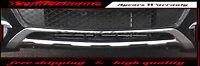 For Mercedes GLK250 300 GLK350 2010-2016 Front Lower Chrome Trim Molding Cover