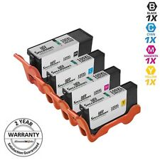 4pk BLACK & COLOR 100XL 100 XL Ink Cartridge for Lexmark Platinum Pro905 Pro805