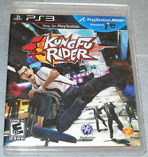 Kung Fu Rider (Sony Playstation 3) New and Factory Sealed Game Only