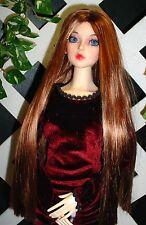 """DOLL Wig, Monique Gold """"Paris"""" Size 5/6 in Golden Auburn w Golden Strawberry"""