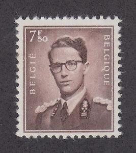 Belgium Sc 463 MNH. 1958 7.50fr King Baudouin, F-VF