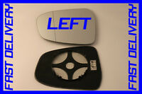FITS FORD MONDEO MK4 2007+ DOOR WING MIRROR GLASS HEATED CLIP ON  LEFT