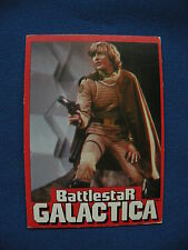 1978 Wonder Bread Battlestar Galactica card #01 of 36 Starbuck gambler &