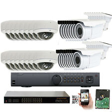 32Ch Nvr 1920P 5Mp PoE Ip Onvif V103 30 & 72Ir Security Camera System 5Tb Hd
