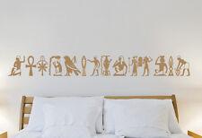 Wandaufkleber: 14 Hieroglyphen - Ägypten Border Bordüre Afrika Mythos WandTattoo