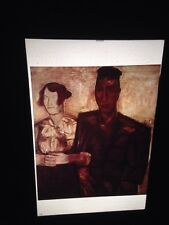 """Constant Permeke """"The Betrothed"""" Belgian Expressionism Art 35mm Slide"""