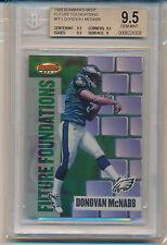 1999 Bowman's Best Football (Future Foundations) Donovan McNabb (#FF3) BGS9.5
