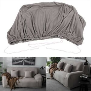 Knitting Sofa Funda Couch Anti Slip Cover Corner Stretch Furniture Protector