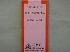 Placas de rosca de cpt, 16 er 16 pg bma (rosca tanques din 40430)