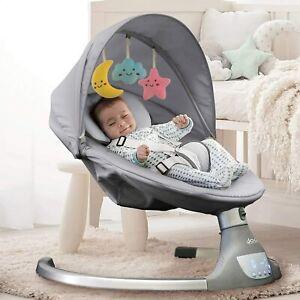 Nova Baby Swing for Infants - Motorized Portable Swing, Bluetooth Music Speaker