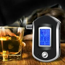 AT6000 LCD Smart Portable Digital Alcohol Breath Analyzer Tester Breathalyzer De
