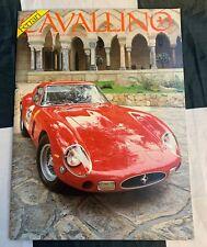 CAVALLINO FERRARI MAGAZINE 29 SEPTEMBER OCTOBER 1985 250 LM LE MANS 1965 250 GTO