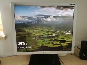 LG Flatron L1919S 48 cm (19 Zoll) 5:4 LCD Monitor - Weiss