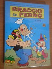 ED.METRO SERIE BRACCIO DI FERRO N° 477 1987 stato Ottimo di Busta   L