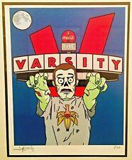 The Varsity Zombie Art 1/100 Atlanta Georgia Tech Humans vs Zombies Coca-Cola