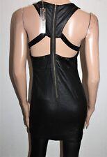 billions & trillions Brand Black Bodycon Dress Size L BNWT #TK106
