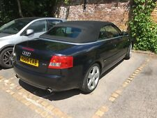Audi A4 Convertible S Line 2.4 V6