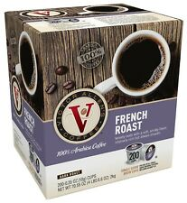 Victor Allen's Coffee K Cups, French Roast Single Serve Dark Roast, 200 Ct - NEW