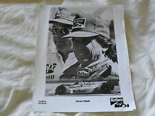 10 x 8 MOTORSPORT PRESS PHOTO - EMERSON FITTIPALDI & JIM McGEE -INDYCAR MARLBORO