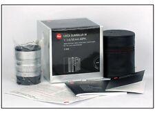 New Leica Summilux-M 50mm f/1.4 6 bit silver #11892 50 F1.4 fit M240 M9-P MM