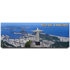 Christ the Redeemer panoramic fridge magnet Rio de Janeiro souvenir Brazil
