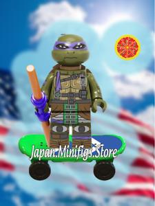 Teenage Mutant Ninja Turtles DONATELLO Minifigure DC Comics lego MOC