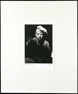 Fotografie in der DDR. Harald HAUSWALD (*1954 D) vintage print, handsigniert