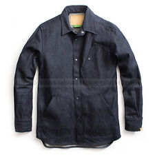 G-STAR RAW BY MARC NEWSON PREMIUM JEANS OVERSHIRT JACKET KOBE DENIM SIZE XL