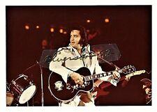 ELVIS PRESLEY ORIGINAL COLOR CONCERT PHOTO - ATLANTA, GA - APRIL 30, 1975