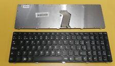 Teclado Español Lenovo Z560, Z565,G570 negro marco negro      0250007-B