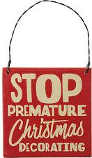 PBK Christmas Decor - Stop Premature Christmas Decorating