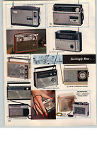1966 PAPER AD 3 PG Transistor Radio GE Ross Westinghouse Arvin Micro 8 10 12