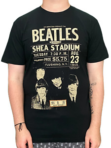 Beatles Shea Stadium 1966 Unisex Official T Shirt Brand New Various Sizes ECO