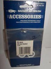 Badger Air-Brush 20mm Gasket (3) #51-012 NIP