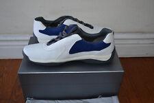 NEW NIB $595 Prada - Sz 12 US / 11 UK - Men's Punta Ala Leather Shoes Sneakers