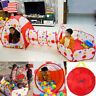 Hot 3 in 1 Ball Pit Pool Folding Kids Play Tent Tunnel house Outdoor Portable