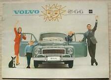 VOLVO 544 USA Car Sales Brochure April 1963 # RK 738/3