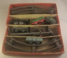 Vintage clockwork Hornby train Goods Set No.20 - vintage hornby train meccano