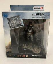 Schleich Justice League Action Figure #19 Batman Hand Painted #22559 NIB