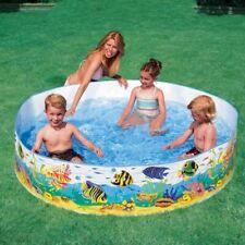 Childrens Kids Toddler Snapset Rigid Swimming Paddling Garden Play Pool
