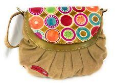 Sac Macha à bandoulière en coton et cuir Pour Femme Indien Ethnique