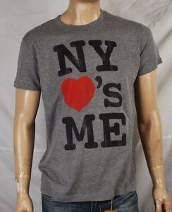 Local Celebrity NY Loves Me Tee Gray $14.99 with FREE shipping to USA