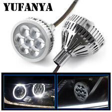 25 Led High Projector Lens Single Beam White Devil Eyes Headlights Retrofit Fits More Than One Vehicle