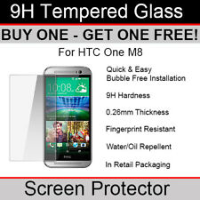 Premium Quality Tempered Glass screen protector for HTC One M8