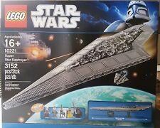 LEGO 10221 STAR WARS SUPER STAR DESTROYER NUOVO NEW NISB