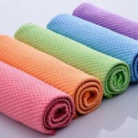 Absorbent Microfibre Kitchen Towels Dish Quick Drying Cleaning Multi-purpose