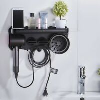 Hair Dryer Wall Mount Holder for Dyson Supersonic Hair Dryer, Punch-Free Ha Q8O8